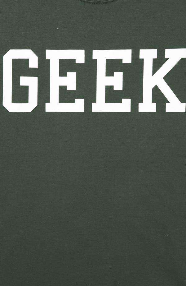 Alternate Image 3  - Topshop 'Geek' Graphic Tee (Petite)