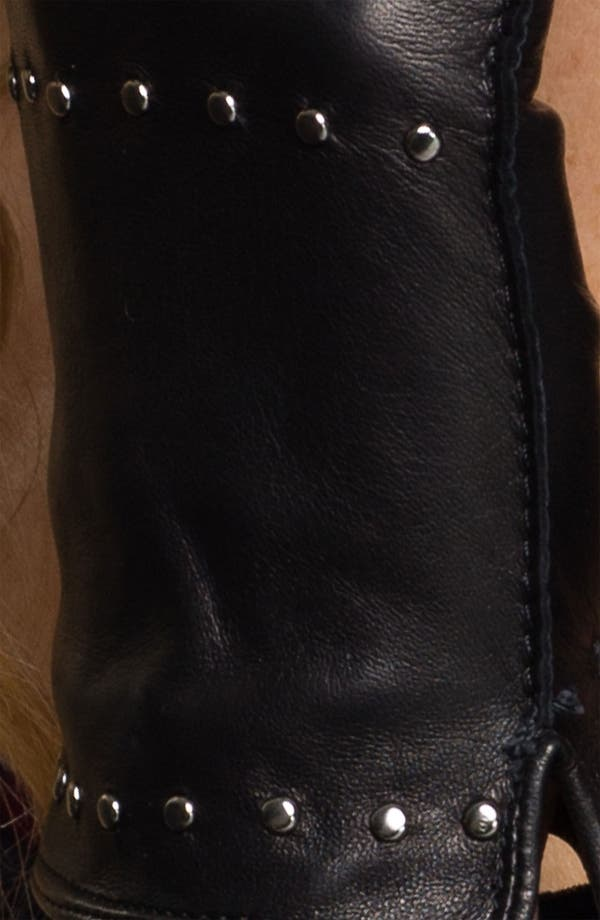 Alternate Image 2  - Nordstrom Studded Leather Gloves