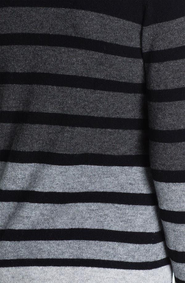 Alternate Image 3  - Saffron Stripe Cashmere Cardigan