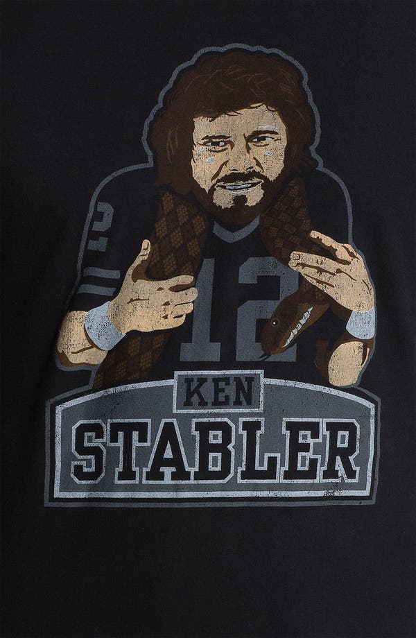 Alternate Image 3  - Red Jacket 'Hyperbole - Ken Stabler' T-Shirt