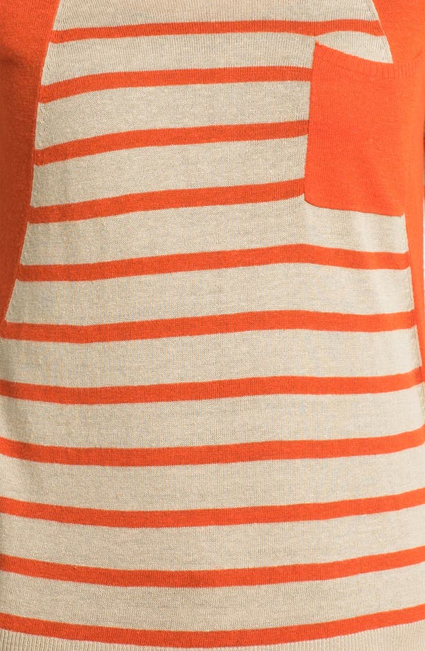 Alternate Image 3  - Two by Vince Camuto Colorblock Stripe Sweater