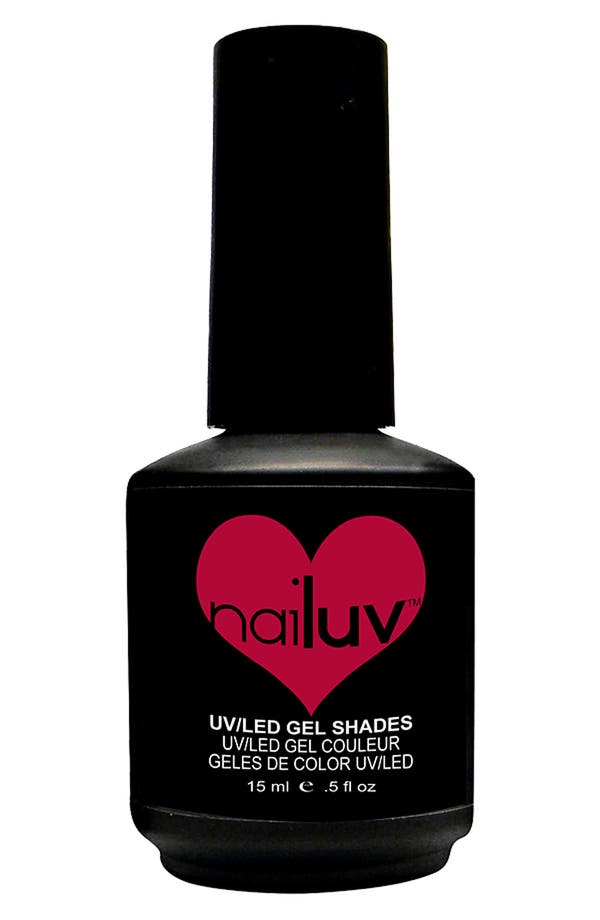 Alternate Image 1 Selected - NaiLuv™ 'Homebody Not' Gel Nail Polish