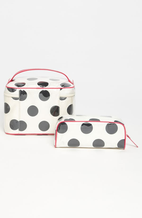 Alternate Image 4  - kate spade new york 'le pavillion - large natalie' cosmetics case set