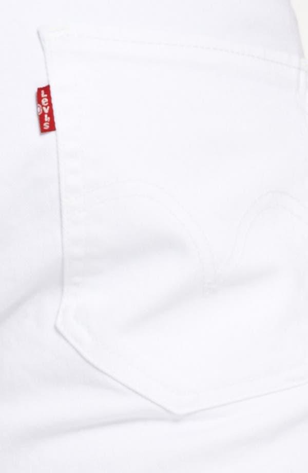 Alternate Image 4  - Levi's® '511™' Skinny Jeans (White)