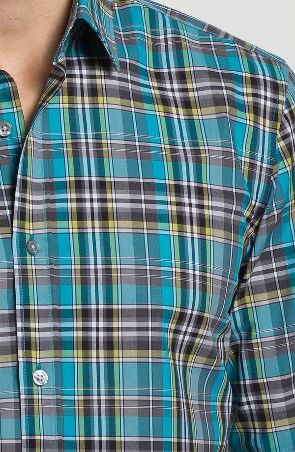 Alternate Image 3  - BOSS Black 'Ronny' Slim Fit Sport Shirt