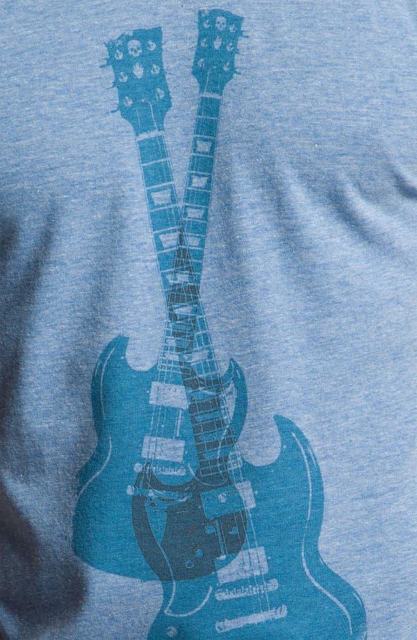 Alternate Image 3  - The Poster List 'Skull Guitars' Graphic T-Shirt