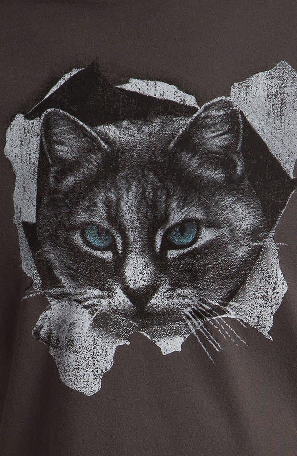 Alternate Image 3  - Sub_Urban Riot 'Peekaboo Cat' Graphic T-Shirt