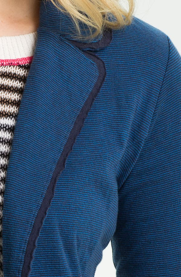 Alternate Image 3  - Caslon® Long Sleeve Double Knit Blazer