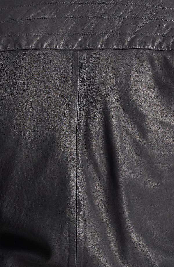 Alternate Image 3  - rag & bone Leather Bomber Jacket