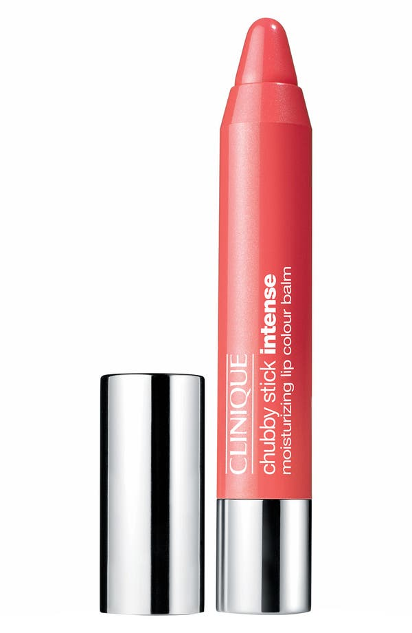 Chubby Stick Intense Moisturizing Lip Color Balm,                             Main thumbnail 1, color,                             04 Heftiest Hibiscus