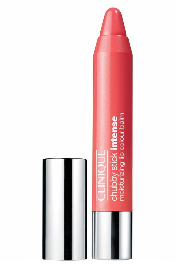 Chubby Stick Intense Moisturizing Lip Color Balm,                         Main,                         color, 04 Heftiest Hibiscus