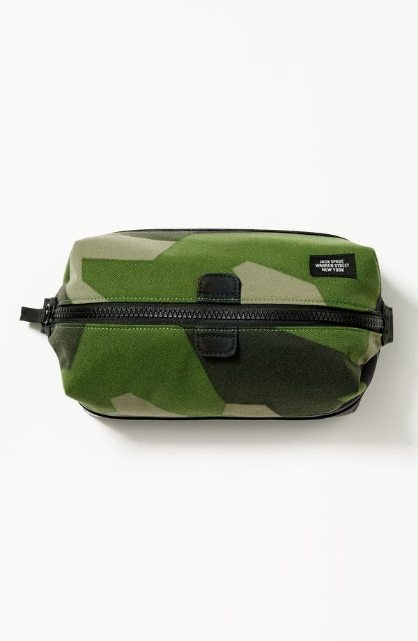 Alternate Image 4  - Jack Spade Camo Travel Kit