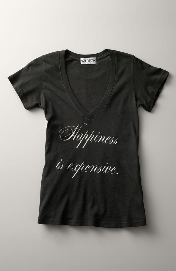 Alternate Image 6  - Wildfox 'Happiness Is Expensive' Graphic Tee