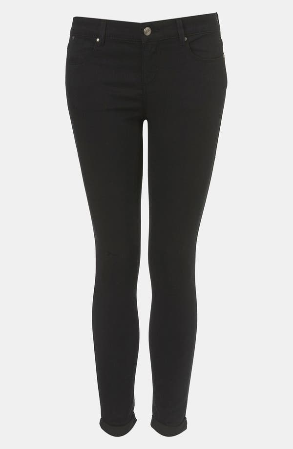 Alternate Image 1 Selected - Topshop 'Leigh' Skinny Jeans (Petite)