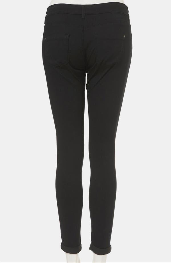 Alternate Image 2  - Topshop 'Leigh' Skinny Jeans (Petite)