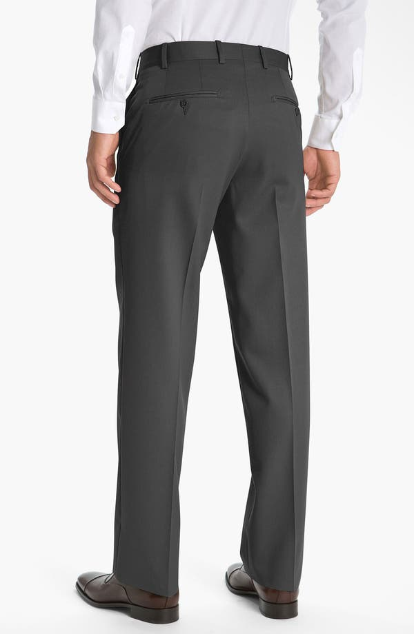 Alternate Image 2  - JB Britches Pre-Hemmed Flat Front Trousers
