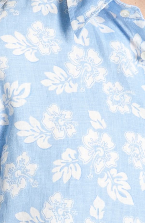 Alternate Image 3  - Vilebrequin Print Linen Shirt