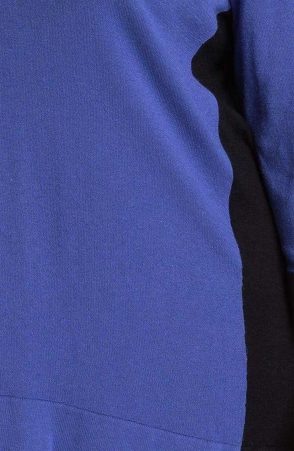 Alternate Image 3  - Sejour Colorblock Sweater (Plus)
