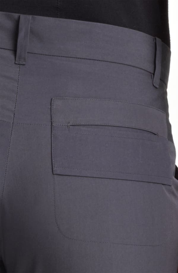 Alternate Image 3  - Jil Sander 'Niccolo' Slim Leg Cotton Taffeta Ankle Pants