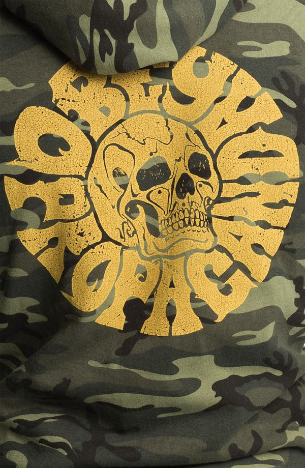 Alternate Image 3  - Obey 'Skull' Graphic Camo Hoodie