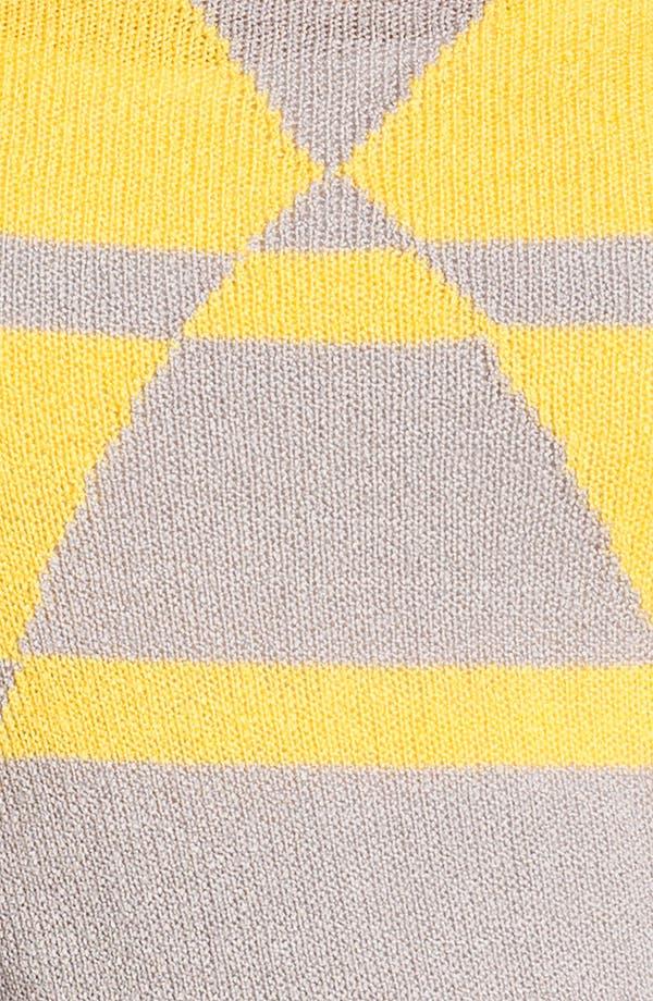 Alternate Image 3  - Caslon 'Geo Stripe' Crewneck Sweater