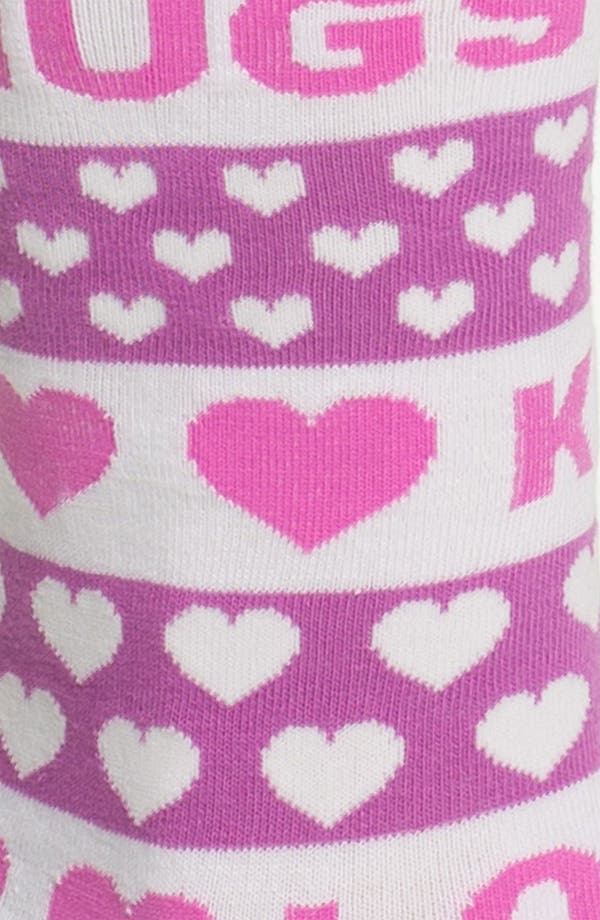 Alternate Image 2  - Hot Sox 'Hugs & Kisses' Socks