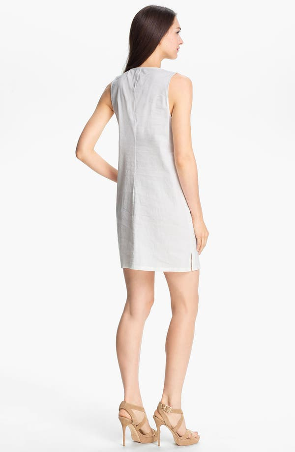 Alternate Image 2  - Theory 'Wandu' Linen Blend Shift Dress