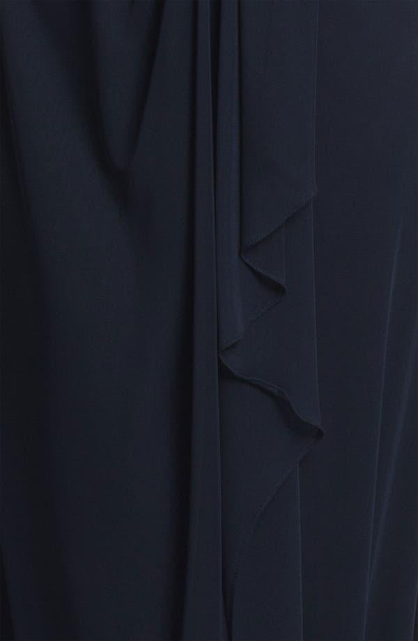 Alternate Image 4  - Patra Matte Lace Chiffon Gown & Bolero
