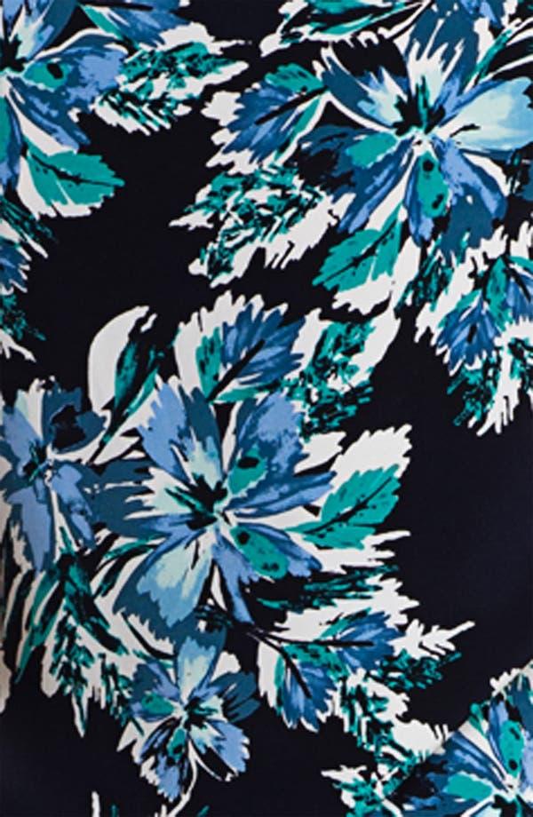 Alternate Image 5  - St. John Collection Hibiscus Print Top