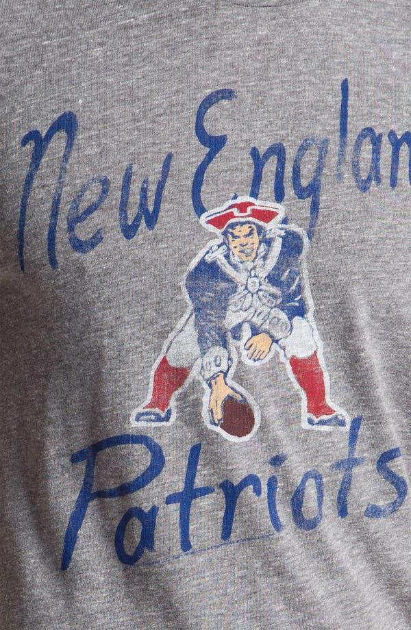 Alternate Image 3  - Junk Food 'New England Patriots' Graphic Crewneck T-Shirt