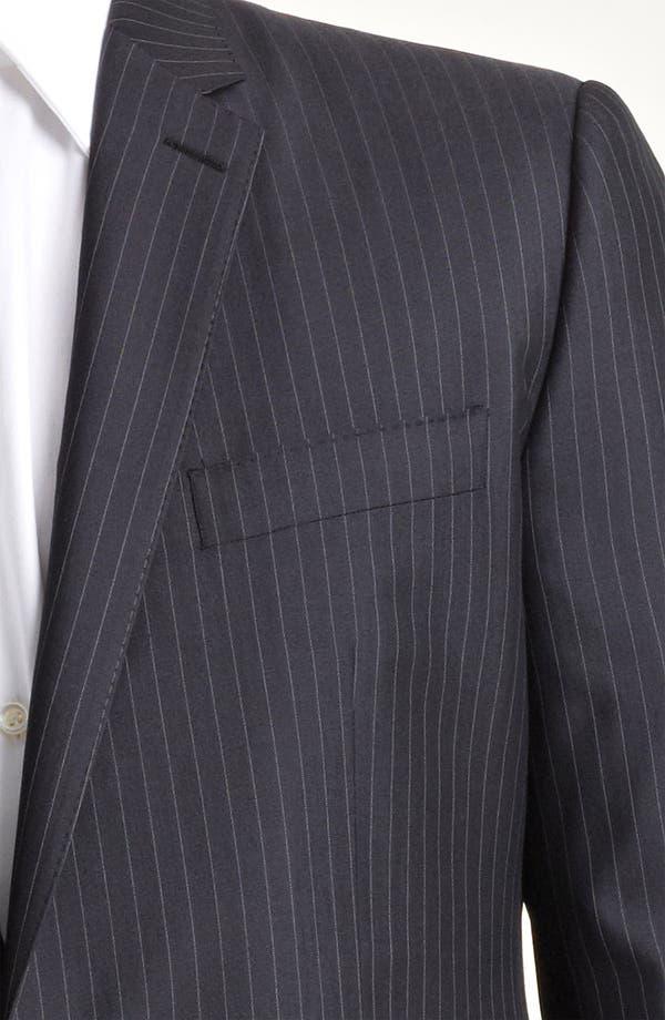 Alternate Image 2  - Dolce&Gabbana Pinstripe Wool & Silk Suit