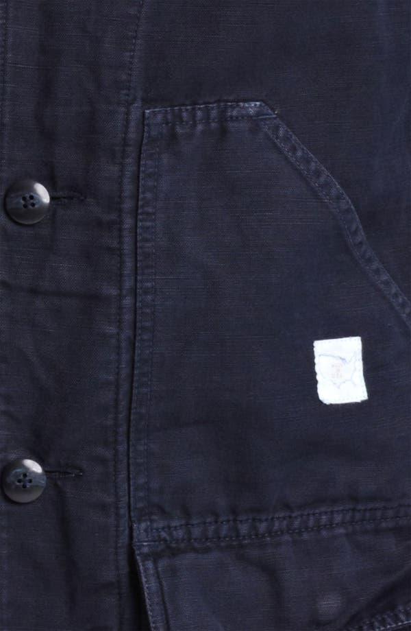 Alternate Image 3  - Save Khaki Cotton Jacket