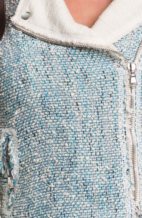 Alternate Image 3  - Rebecca Taylor Tweed Moto Jacket
