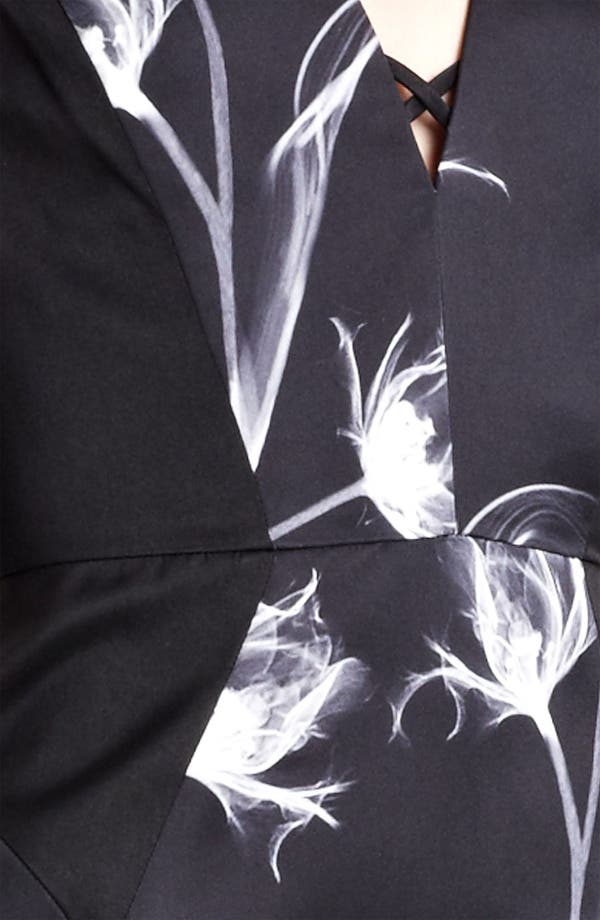 Alternate Image 5  - Jason Wu Floral Print Silk Sheath Dress