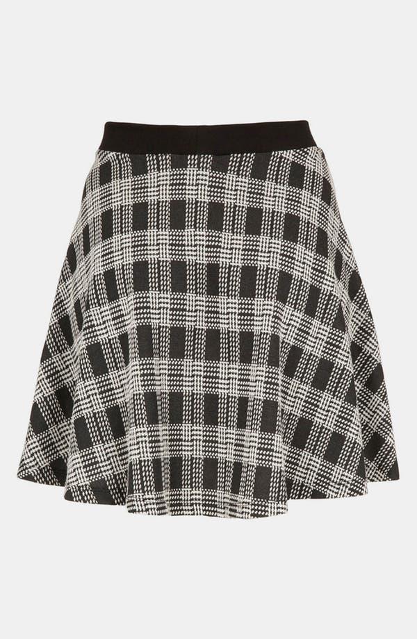 Alternate Image 2  - Topshop Plaid Skater Skirt (Petite)