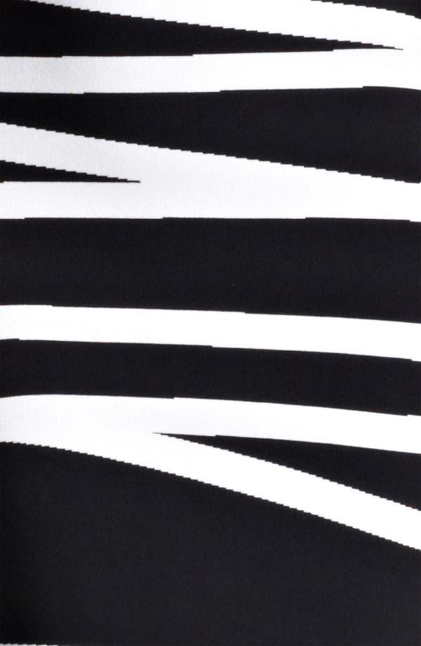 Alternate Image 3  - Herve Leger Contrast Stripe Dress