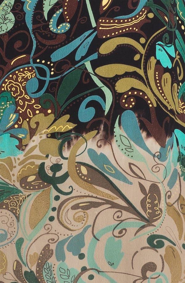Alternate Image 3  - Citron Ombré Print Crepe Dress