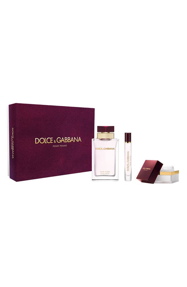 Alternate Image 1 Selected - Dolce&Gabbana 'Pour Femme' Eau de Parfum Set (Nordstrom Exclusive) ($120 Value)