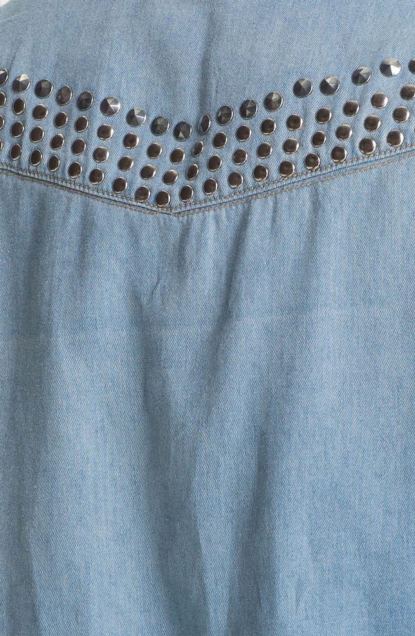 Alternate Image 3  - Wit & Wisdom Studded Denim Shirt (Nordstrom Exclusive)