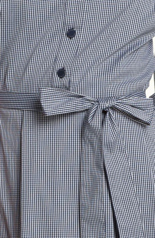 Alternate Image 3  - Tory Burch 'Blythe' Stretch Poplin Shirtdress