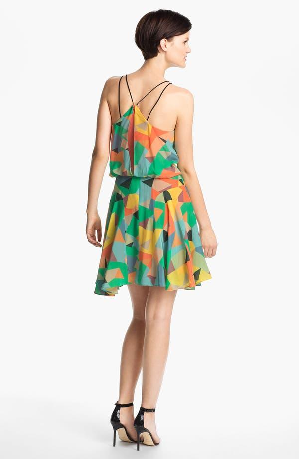 Alternate Image 2  - Milly Silk Blouson Dress