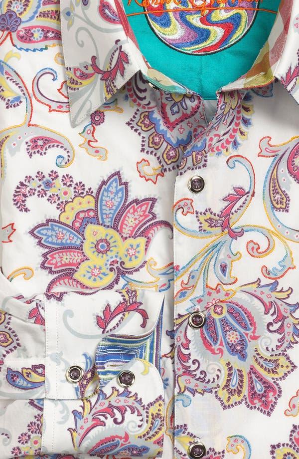 Alternate Image 5  - Robert Graham 'Chitwood' Regular Fit Sport Shirt
