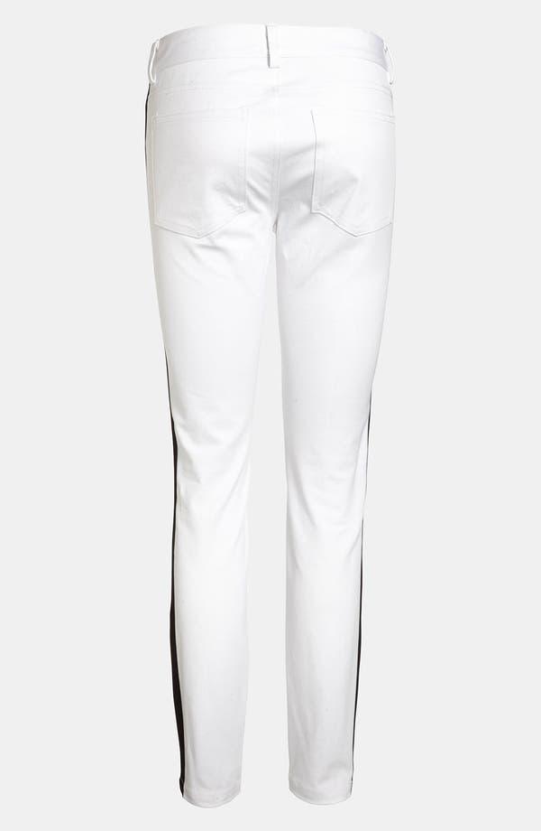 Alternate Image 3  - BB Dakota Tuxedo Stripe Denim Leggings