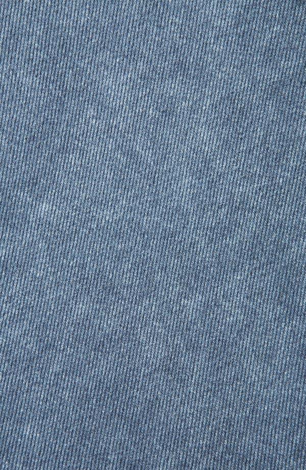 'Andie' Denim Skater Skirt,                             Alternate thumbnail 3, color,                             Blue