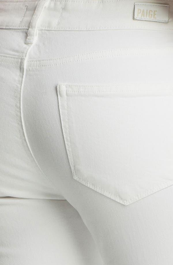 Alternate Image 3  - Paige Denim 'Kylie' Crop Skinny Jeans (Optic White)