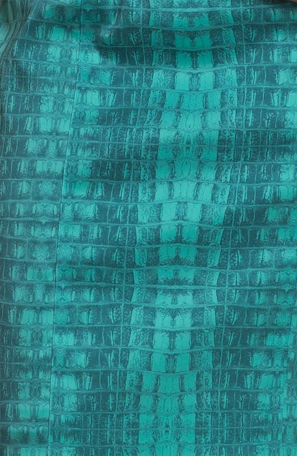Alternate Image 3  - Jay Godfrey 'Balti' Alligator Print Dress (Nordstrom Exclusive)