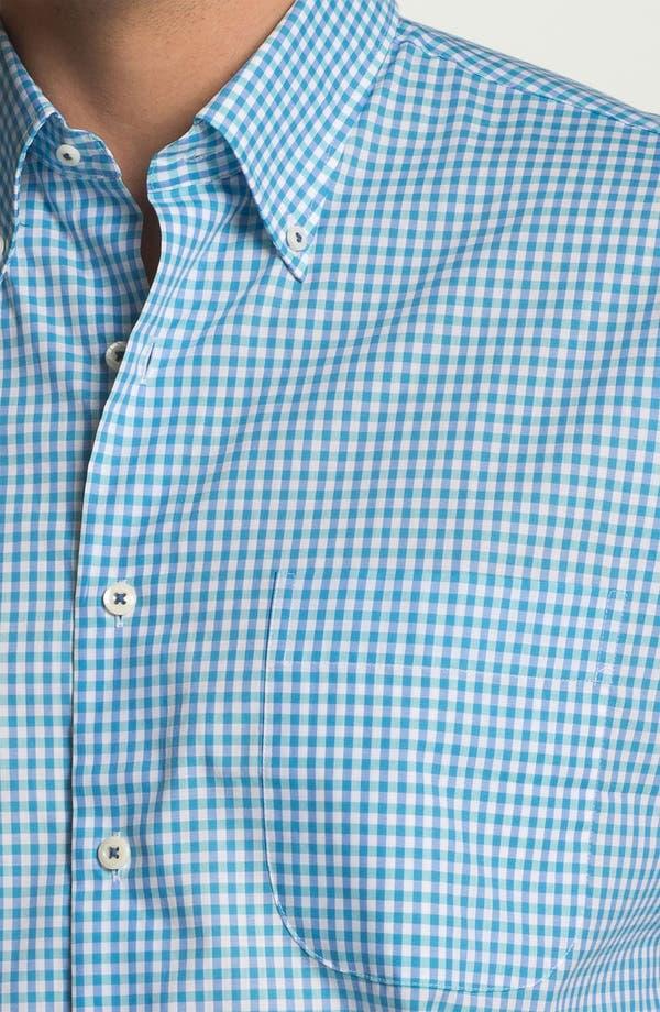 Alternate Image 3  - Peter Millar Regular Fit Short Sleeve Sport Shirt