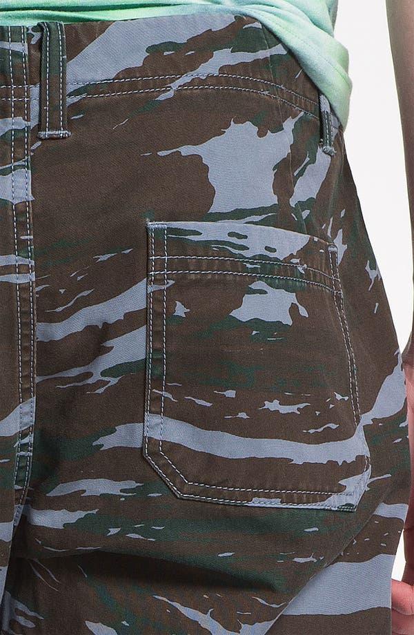 Alternate Image 5  - Topman Camo Print Shorts