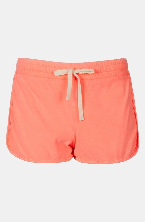 Alternate Image 3  - Topshop Neon Running Shorts