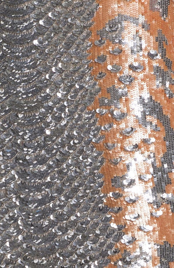 Alternate Image 5  - Haute Hippie Python Pattern Sequin Skirt (Nordstrom Exclusive)